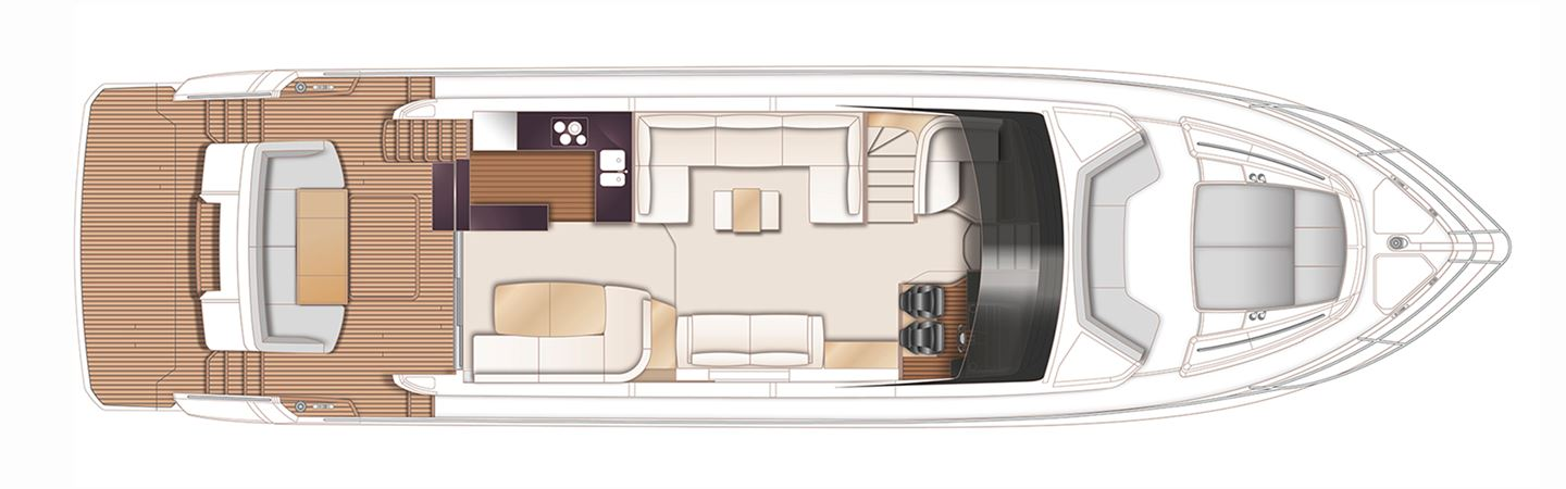 Princess F70 Main Deck